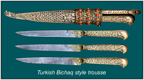 Photo of a Fine Turkish Trousse